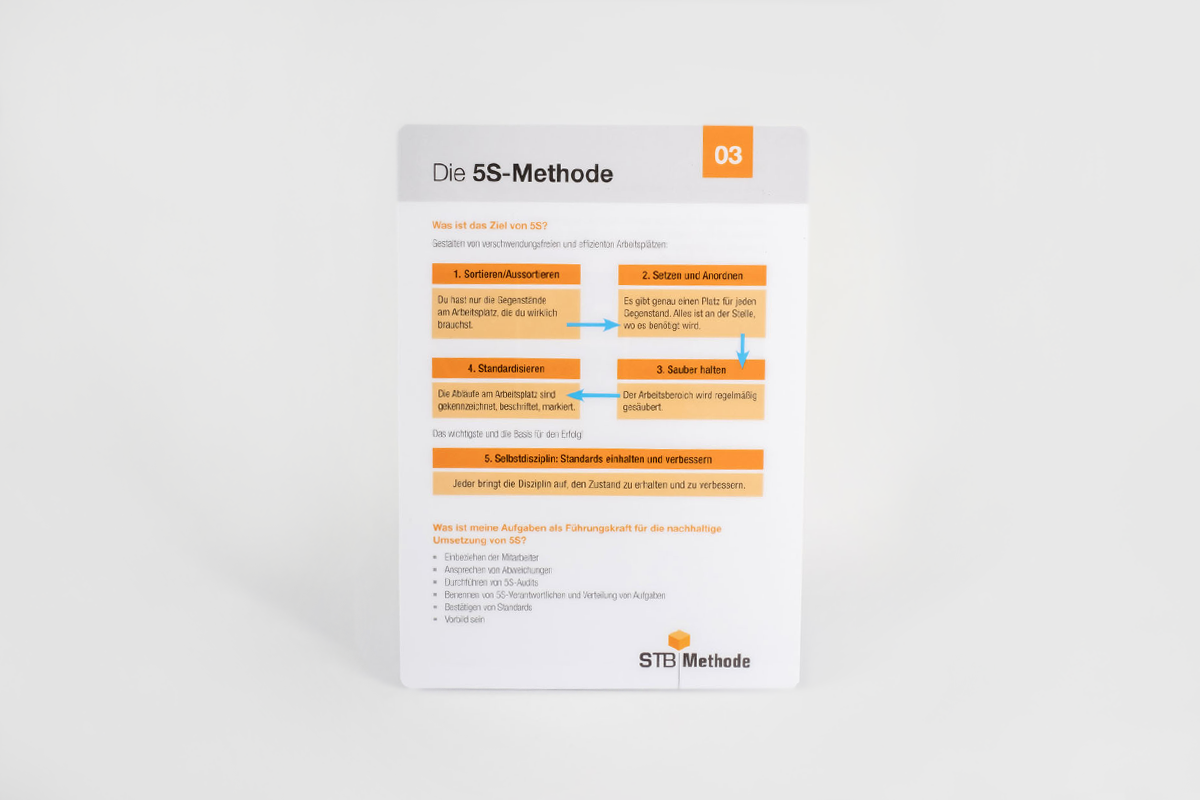 Pocket Guide: 03 - Die 5S Methode